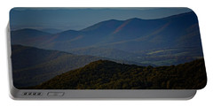 Shenandoah Valley At Sunset Portable Battery Charger