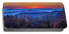 Shenandoah Valley Sunset Portable Battery Charger