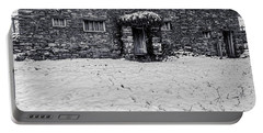 Shepherds Cottage Portable Battery Charger by Keith Elliott