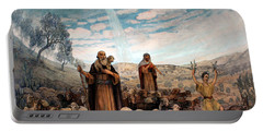 Shepherds Field Painting Portable Battery Charger by Munir Alawi