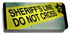 Sheriff's Line - Do Not Cross Portable Battery Charger