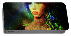 Portable Battery Charger featuring the photograph She's Like A Rainbow by LemonArt Photography