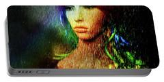 She's Like A Rainbow Portable Battery Charger by LemonArt Photography