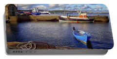 Shetland Boats Portable Battery Charger by Lynn Bolt