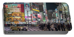 Shibuya Crossing, Tokyo Japan Portable Battery Charger