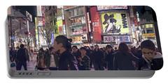 Shibuya Crossing, Tokyo Japan Poster 3 Portable Battery Charger