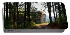 Portable Battery Charger featuring the photograph Shields Farm by Kathryn Meyer
