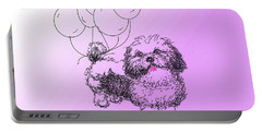 Shih Tzu Portable Battery Charger