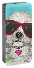 Shih Tzu Diva Portable Battery Charger