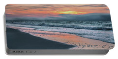 Portable Battery Charger featuring the photograph Shine On Me Beach Sunrise  by John McGraw