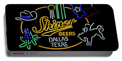 Shiner Beers Dallas Texas Portable Battery Charger