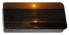 Ship Bottom Sunset Portable Battery Charger