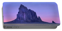 Ship Rock Sunset Portable Battery Charger
