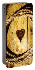 Ship Shape Heart Portable Battery Charger