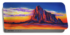 Shiprock Mountain Portable Battery Charger