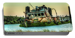 Shipwreck - Mary D. Hume Portable Battery Charger