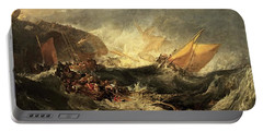 Shipwreck Of The Minotaur Portable Battery Charger