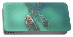 Shipwrecks Portable Battery Charger