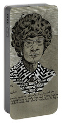Shirley Chisholm Portable Battery Charger