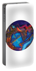 Shiva Blowing The Horn Portable Battery Charger