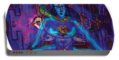 Shiva In Meditation Portable Battery Charger