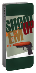 Shoot 'em Up Movie Poster Portable Battery Charger