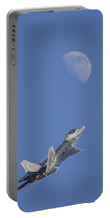 Portable Battery Charger featuring the photograph Shoot The Moon by Adam Romanowicz