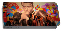 Shopping In Brooklyn With Mohamed Ali Portable Battery Charger