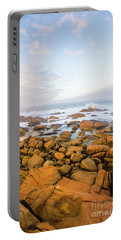 Shore Calm Morning Portable Battery Charger by Jorgo Photography - Wall Art Gallery