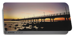 Shorncliffe Pier At Dawn Portable Battery Charger