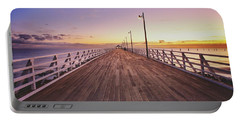 Shorncliffe Pier At First Light  Portable Battery Charger