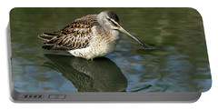 Portable Battery Charger featuring the photograph Short-billed Dowitcher by Sharon Talson