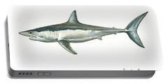 Shortfin Mako Shark Portable Battery Charger