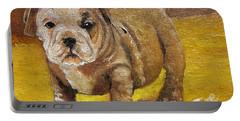 Chloe The   Flying Lamb Productions      Shortstop The English Bulldog Pup Portable Battery Charger