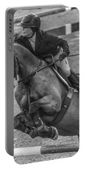 Show Jumping Lightning Portable Battery Charger