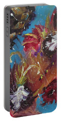 Showers Of Flowers Portable Battery Charger by Sharyn Winters