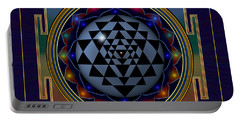 Shri Yantra Portable Battery Charger