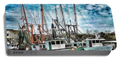 Shrimp Boats Portable Battery Charger