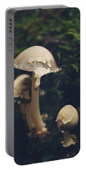 Shroom Family Portable Battery Charger by Shane Holsclaw