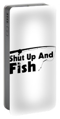 Shut Up And Fish1 Portable Battery Charger