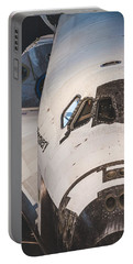 Shuttle Close Up Portable Battery Charger by David Collins