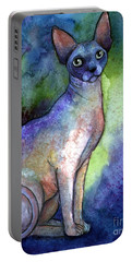 Shynx Cat 2 Painting Portable Battery Charger