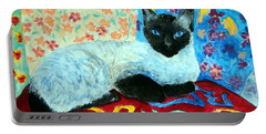 Siamese Cat Portable Battery Charger