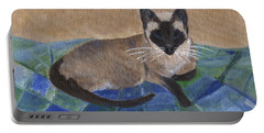 Siamese Nap Portable Battery Charger