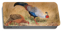 Siamese Pheasant  Portable Battery Charger