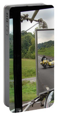 Side Car Framed Portable Battery Charger by J R   Seymour