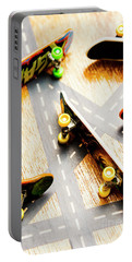 Side Streets Of Skate Portable Battery Charger