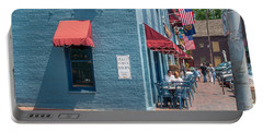 Sidewalk Cafe Annapolis Portable Battery Charger
