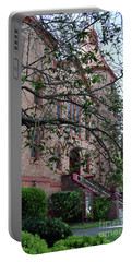 Portable Battery Charger featuring the photograph Sidney Park Cme Church by Skip Willits