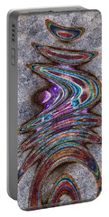 Portable Battery Charger featuring the digital art Sidra by Kiki Art